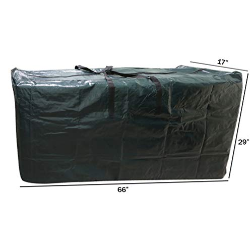 Christmas Holiday Christmas Tree - Evelots Big Holiday Tree Storage Bag/Container-66 Inch Long-All Around Zipper