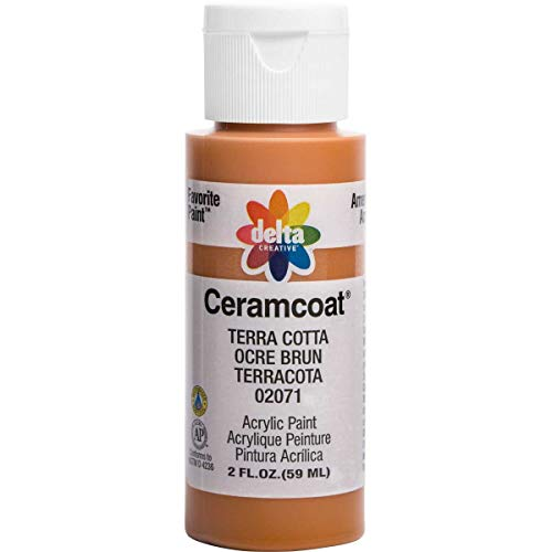 Delta Creative Ceramcoat Acrylic Paint in Assorted Colors (2 oz), 2071, Terra ()