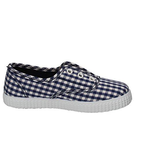CIENTA Sneakers Niños Textil (26 EU, Azul/Blanco)