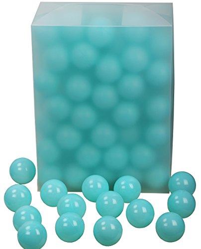 "Blue Pit - Langxun 2.8""Marca Blue Large Ball Pit Balls, Plastic Balls | Play Balls for Baby or Toddlers, Kiddie Pool, Indoor Playpen, Parties Balls, Dry Pool Balls for Kids, 100 Balls"