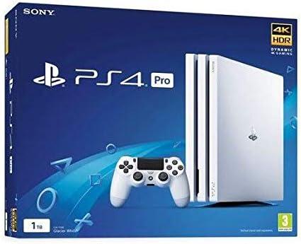PlayStation 4 Pro (PS4) - Consola De 1 TB, Color Blanco: Amazon.es: Videojuegos
