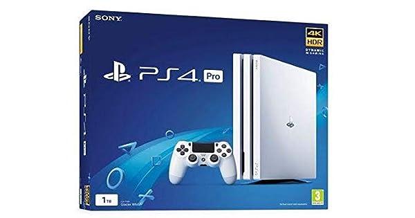 PlayStation 4 Pro (PS4) - Consola De 1 TB, Color Blanco: Amazon.es ...