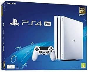 Sony PlayStation 4 Pro 1TB Blanco 1000 GB Wifi - Videoconsolas (PlayStation 4 Pro, Blanco, 8196 MB, GDDR5, GDDR5, AMD Jaguar): Amazon.es: Videojuegos