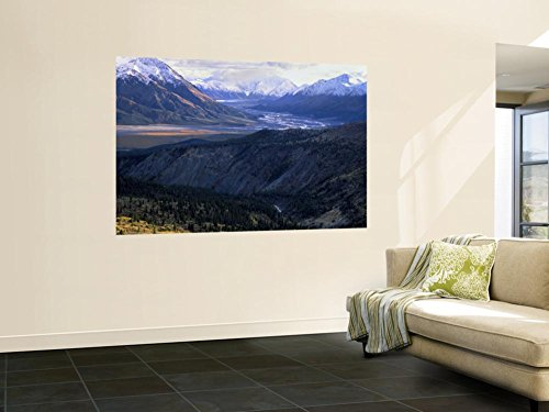 Slim's River Valley in Autumn, Kluane National Park, Yukon Territory, Canada Wall Mural by Scott T. Smith 48 x - National Parks In Yukon