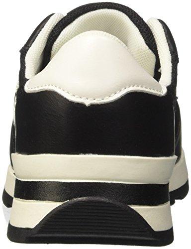 111308201ep Mujer Primadonna para Zapatillas Negro 1dUazqB