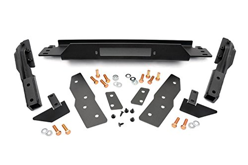 Rough Country - 1064 - Winch Mounting Plate for Jeep: 99-04 Grand Cherokee WJ 4WD/2WD