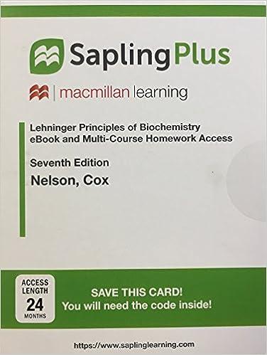 Amazon sapling plus for lehninger principles of biochemistry sapling plus for lehninger principles of biochemistry twenty four month access 7th edition fandeluxe Gallery