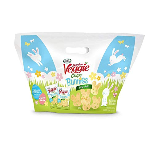 (Sensible Portions Sea Salt Spring Bunnies - 12ct Treat Size Bags)