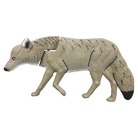Rinehart Targets Coyote Decoy, Grey - Coyote Target
