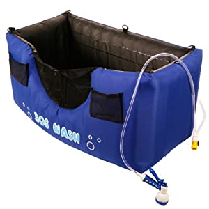 Attractive Maze Pets Portable And Inflatable Dog Bathing Station