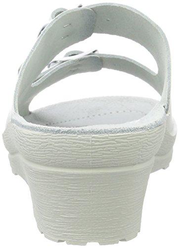 Beck Klara, Mules Femme, Weiß Blanc (Weiß 01)