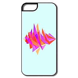 Custom Cool Hard Plastic Non-slip Facets Iphone 5s Covers