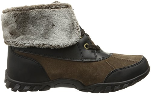 Easy Spirit Womens Nuria Snow Boot Marrone Medio / Multi Suede