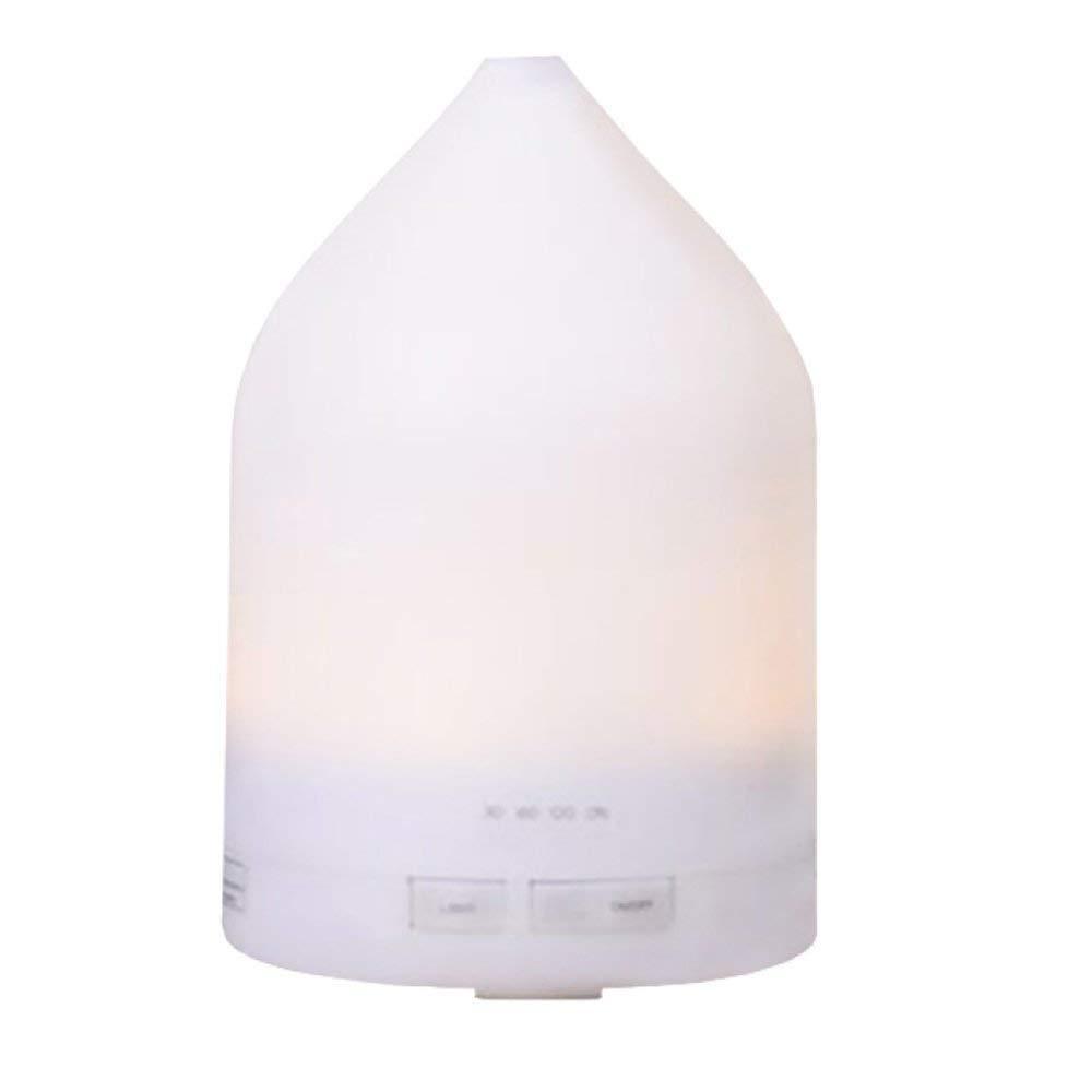 アロマテラピー加湿器100mlクリエイティブアニオン純粋な空気スプレーホームオフィスミュート空気加湿器、ホワイト (色 : 白, サイズ : -)  白 B07QGTVX9B