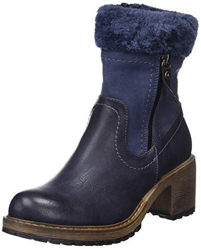 Refresh Stivali da 64783 marino blu blu classici donna wwrCRq