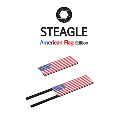 STEAGLE Special Edition (American Flag) Premium Laptop Webcam Cover for your privacy – Macbook – Laptop - PC – 0.03 inch ultimate thinness