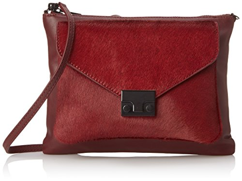 Double LOEFFLER Bag Maroon RANDALL Body Cross Pouch HC4qwx