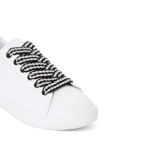 La Redoute Collections Frau Sneakers Zum Schnuren Gre 37 Weiss