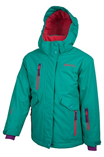 Mountain Warehouse Siberia Extreme Girls Ski Jacket Teal 5-6 years