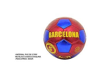 Mambo Balon Futbol Barcelona Rojo y Azul Talla 5  Amazon.es  Deportes y  aire libre 33c5de9169c47