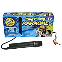 Emerson Karaoke Plug 'N' Sing Karaoke w /100 So