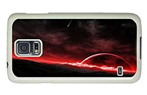Hipster Samsung Galaxy S5 Case the best Fantasy Space Art PC White for Samsung S5 by supermalls