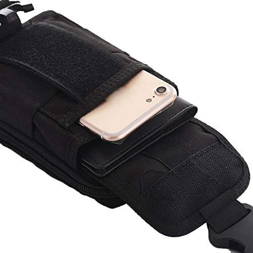 Téléphone Mettre à Facile à en sur étanche Qualité Taille Sac Dos Pratique à Portable Mini ou Place Multifonctionnel Un Sac la Pochette Léger Accroché Militaire wxEq7nPvg