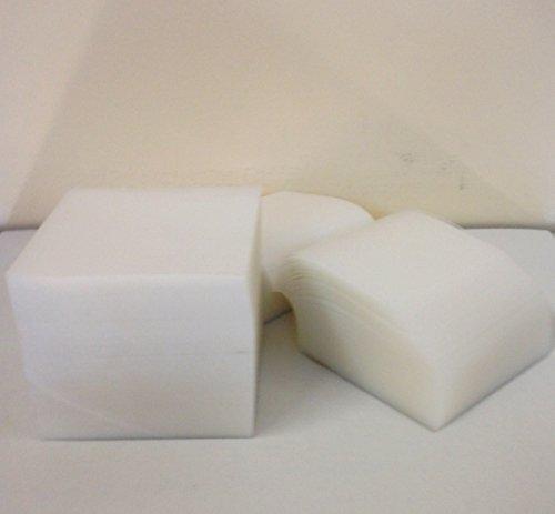 A&A Export Inc 4x4 Clear Plastic Furniture Carpet Tabs - 1,000 ()