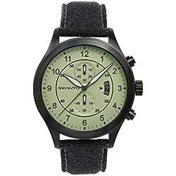 Szanto Men's SZ 1204 1200 Series Vintage-Inspired Military Pilot Watch