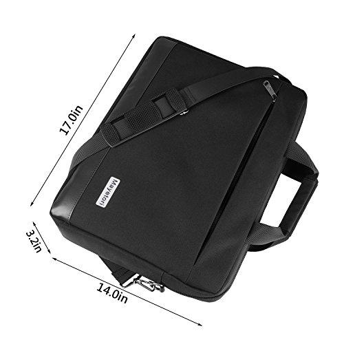 Laptop Bag, Mayetori 15.6 Inch Laptop Briefcase for Men Women College Student, Business Computer Messenger Shoulder Bag, Water Resistant Laptop Case for Notebook MacBook Tablet by Mayetori (Image #5)