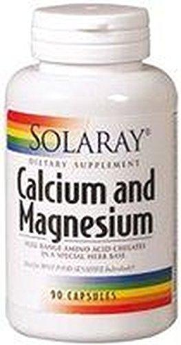 Calcio y Magnesio 90 cápsulas de Solaray: Amazon.es: Salud y cuidado personal