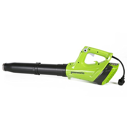 Greenworks 9 Amp 130 MPH - 530 CFM Corded Jet Blower (Powerful Leaf Blower)