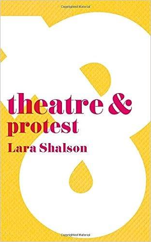 Book Theatre & Protest (Theatre And)