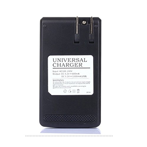 Review Universal LCD battery Charger,