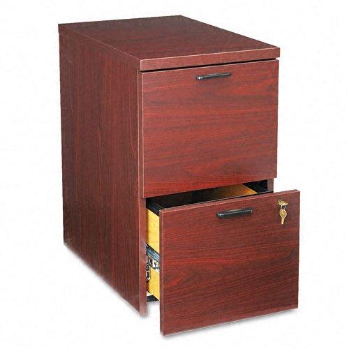 (HON 105104NN 10500 Series 28-Inch Mobile File Pedestal, Mahogany)