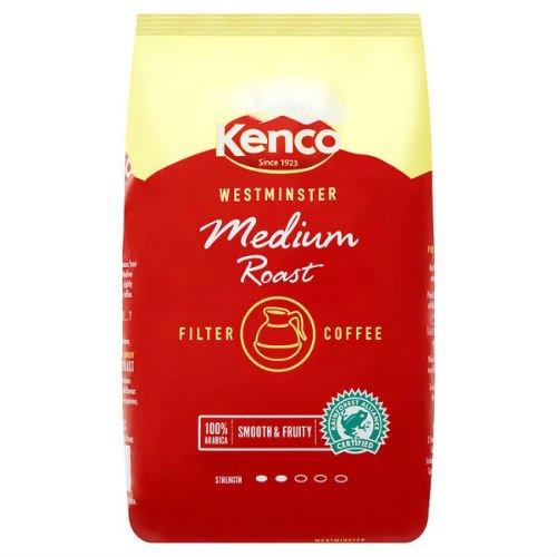 Kenco Westminster Medium Roast Filter Coffee 1Kg Case Of 10 by Kenco