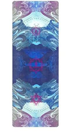 YOOMAT - Esterilla de Yoga Antideslizante y cómoda, 183 cm x ...