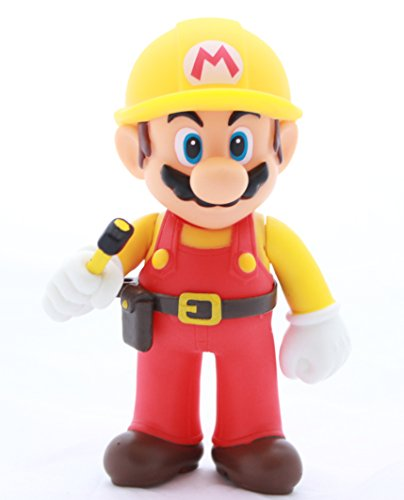 Mario Maker Super Mario Bros Brothers Action Figures Collection