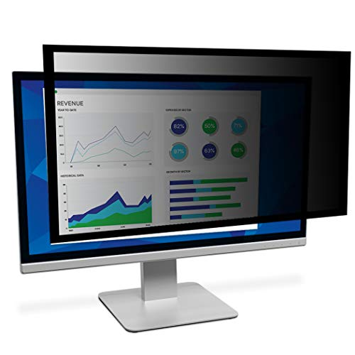"3M Framed Privacy Filter for 23"" Widescreen Monitor, Reduces blue light (PF230W9F)"