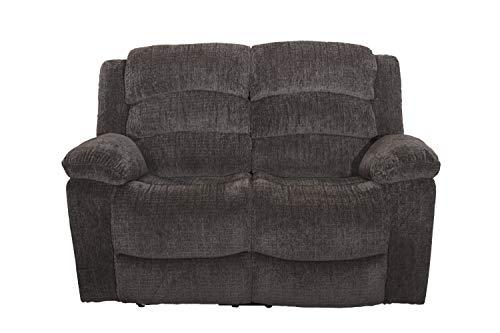 Austin Recliner - New Classic Furniture 22-2134-22PH-UBR Austin Full Power Loveseat with Power Headrest, Power, Stone