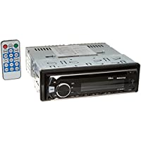 Audiotek AT-982BT AM/FM/MP3 Playable w/ Bluetooth/USB/AUX/SD/CD 50W x4 In-Dash Single-Din Detachable Digital Media Receiver