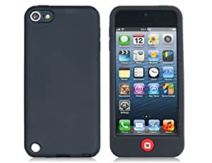 Smarties Shaped Power Button Protective Case for iPod Touch 5 (Black