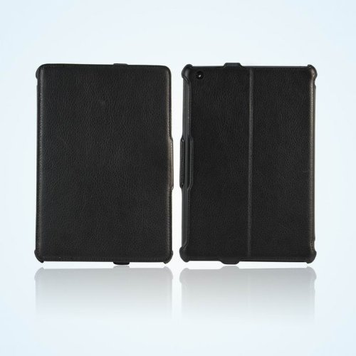 Bear Motion for iPad Air 2 - Premium Folio Case with Built in Stand for iPad Air 2 (iPad 6), Support Smart Cover Function - Black