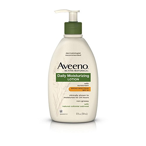Aveeno Daily Moisturizing Body Lotion With SPF 15, 12 Fl. Oz (Lotion Hand Body Moisturizing)