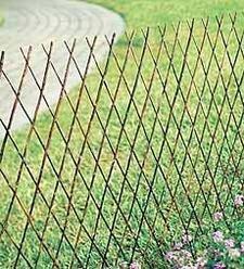Lattice Edging (Willow Expandable Lattice Fence Panel, 72