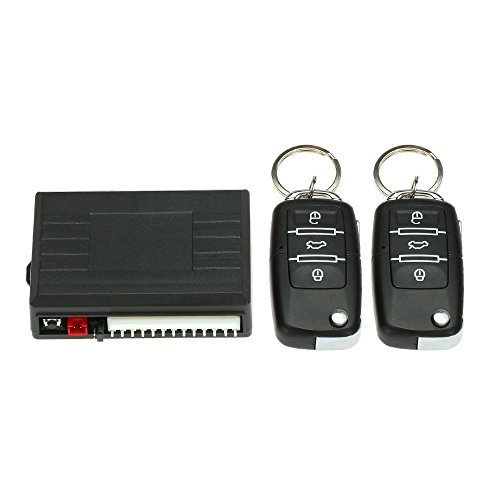 KKmoon Car Door Lock Keyless Entry System Remote Central Locking Kit for VW LUPO POLO (Central Locking System)