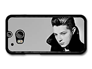 AMAF ? Accessories John Newman Black and White Portrait Close Up case for HTC One M8 by mcsharks