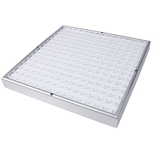 Yescom 225 LED Grow Light Panel 14W Lamp Blue Red Orange White for Indoor Hydroponic Plant Flower Seedling Blooming by Yescom