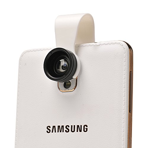 Apexel 2 in 1 Wide Angle Macro Camera Lens Kit for iPhone X/8/7/6/6s Plus Samsung Galaxy S8/S7 Plus HTC Google Andriod Phone Tablets (No Dark Edges) by Apexel