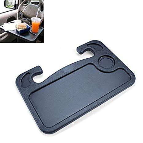 Interior Accessories Automobiles & Motorcycles Car Steering Wheel Tray Table Laptop Stand Work Desk Drink Holder Clip Mount New Goods Of Every Description Are Available